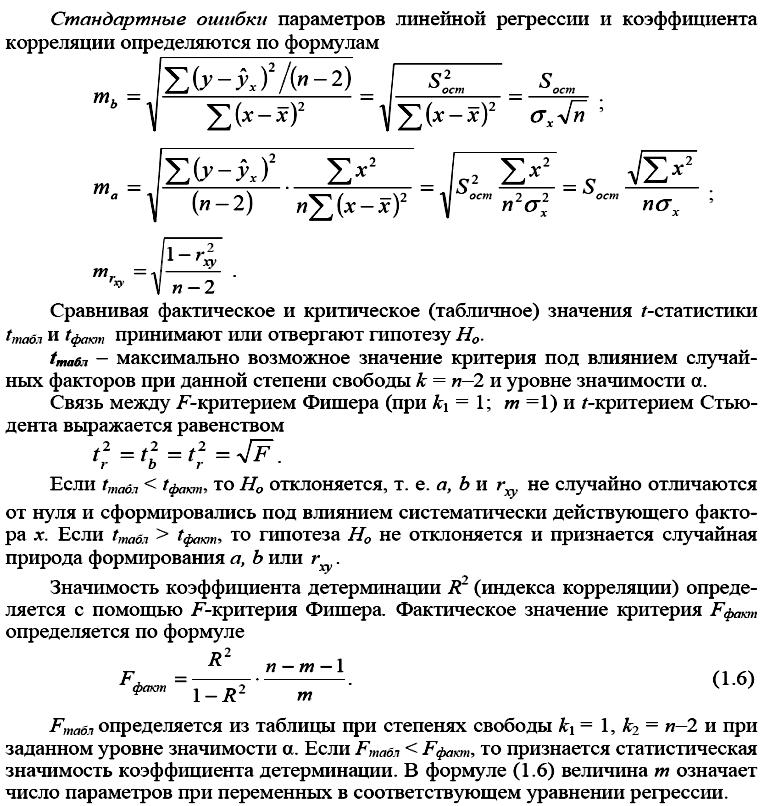 Гетероскедастичность линейной регрессии с решением и формулой фишера